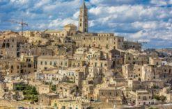 Matera, Włochy - miasto wykute w skale