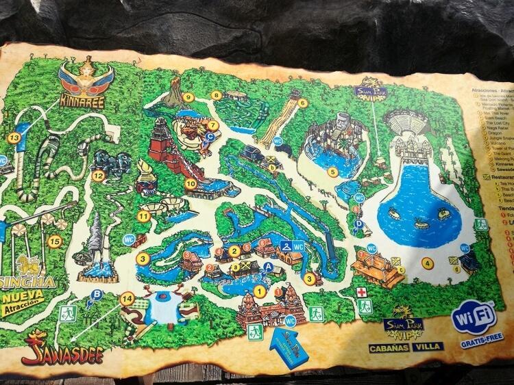 Teneryfa park wodny Siam Park