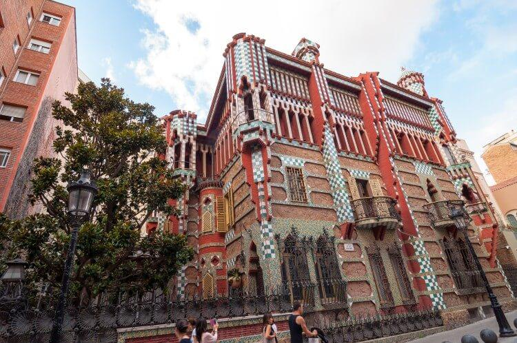 Casa Vincens w Barcelonie