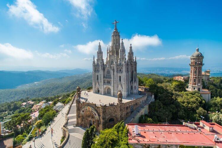 Rzymskokatolicki kościół Sagrat Cor w Barcelonie