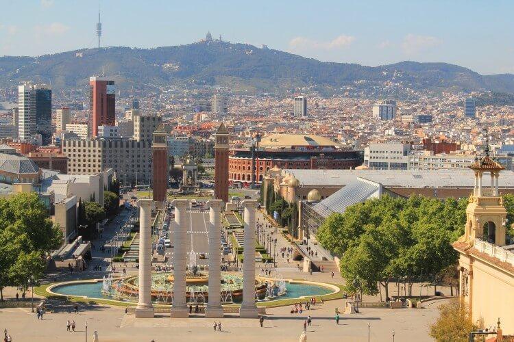 Plac Hiszpański w Barcelonie