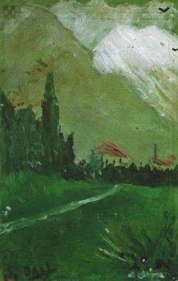 Salvador Dali pierwszy obraz namalował w wieku 6 lat