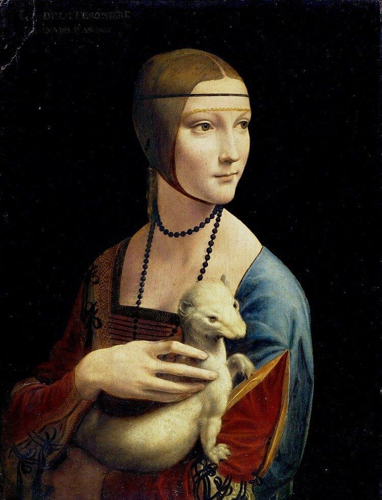 Dama z gronostajem - Leonardo da Vinci to jeden z najsłynniejszych obrazów na świecie