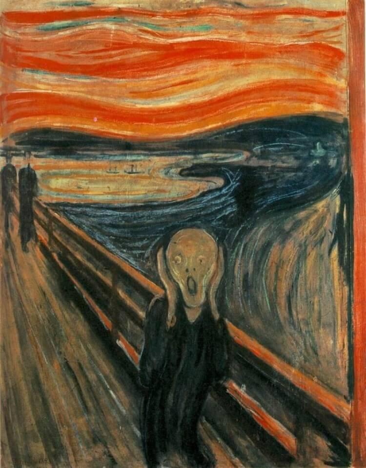 Krzyk - Edward Munch - jeden z najbardziej znanych obrazów na świecie