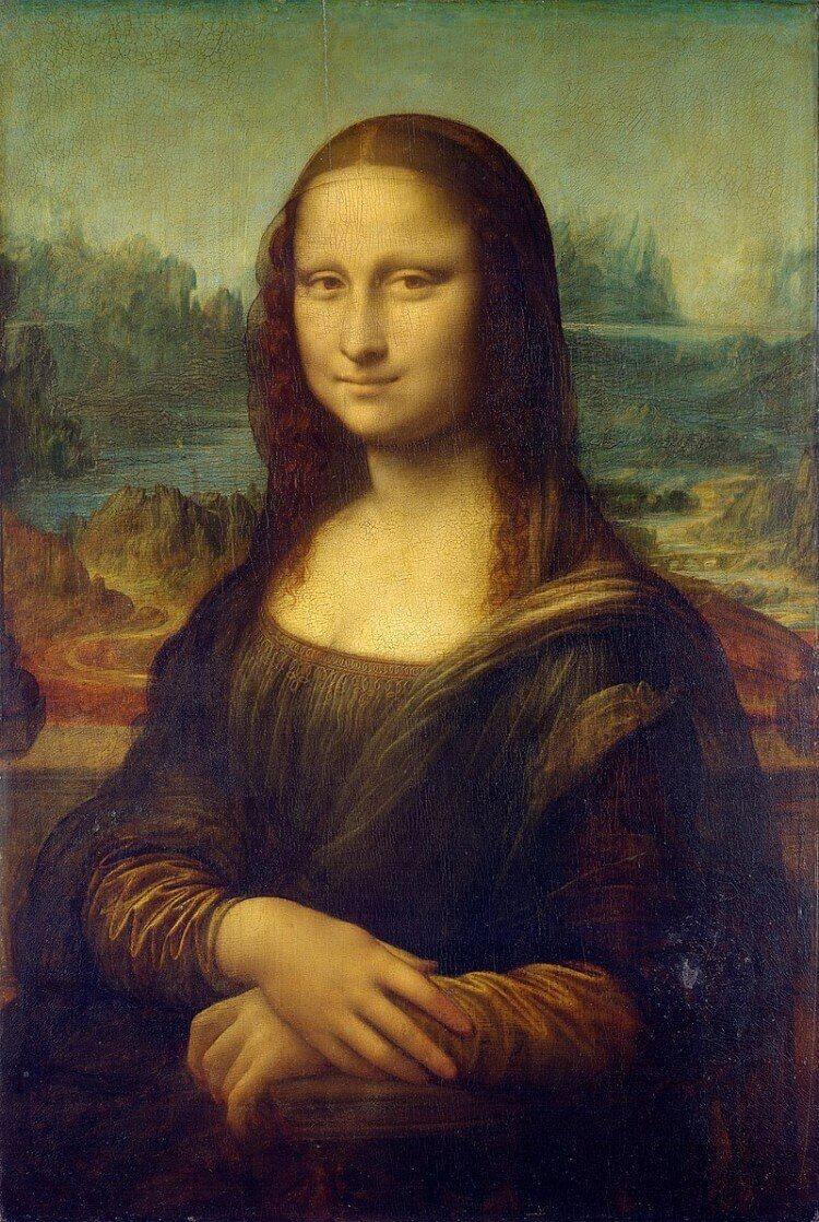 Znane obrazy - Mona Lisa - Leonardo da Vinci