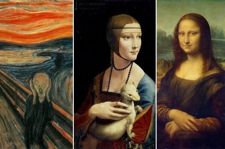 słynne obrazy znanych malarzy