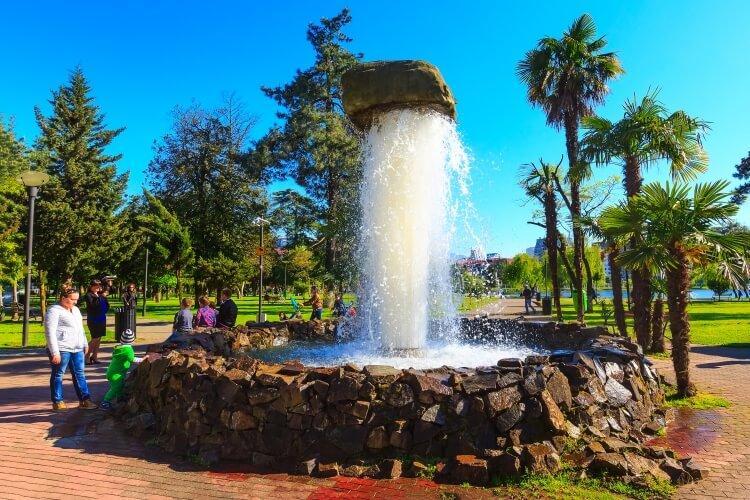 Fontanna w Batumi