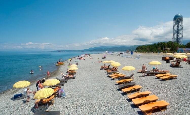 Plaża w Batumi