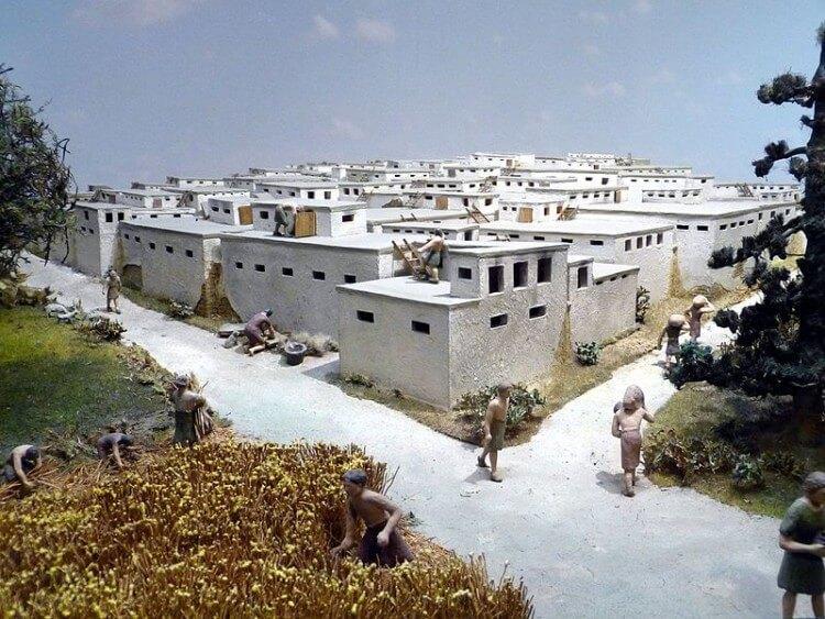 Według archeologów tak mogła wyglądać zabudowa mieszkalna cywlizacji Çatalhöyük
