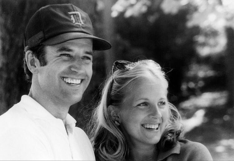 Joe i Jill Biden kiedyś
