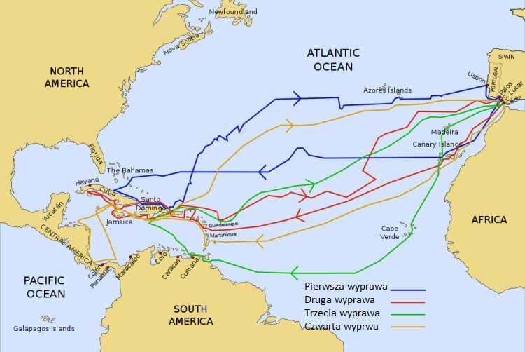 Wyprawy Kolumba