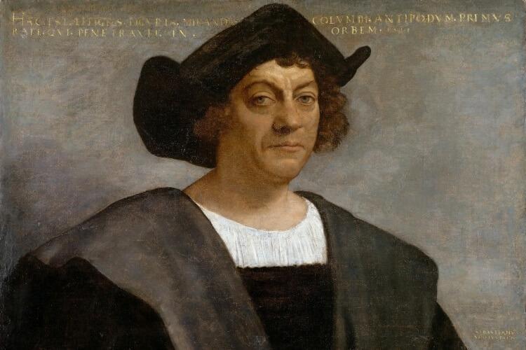 Krzysztof Kolumb portret