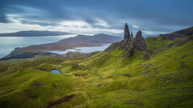 Old Man of Storr na wyspie Skye