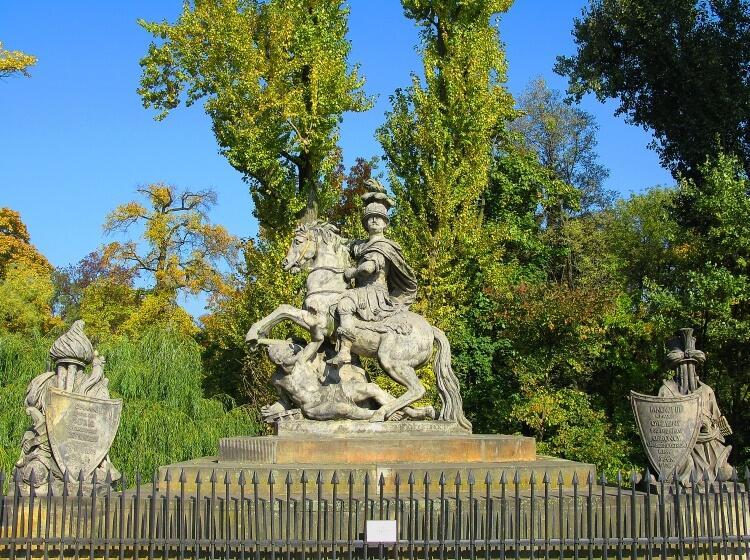 Jan III Sobieski - pomnik w Warszawie