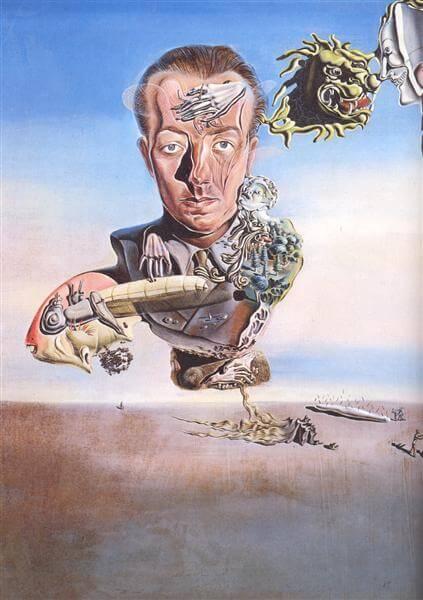 Portret Pawła Eluarda Salvador Dali