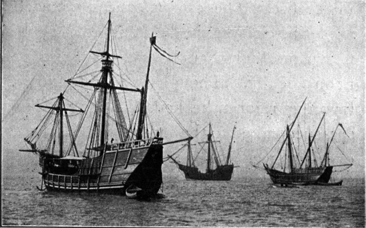 statki Krzysztofa Kolumba