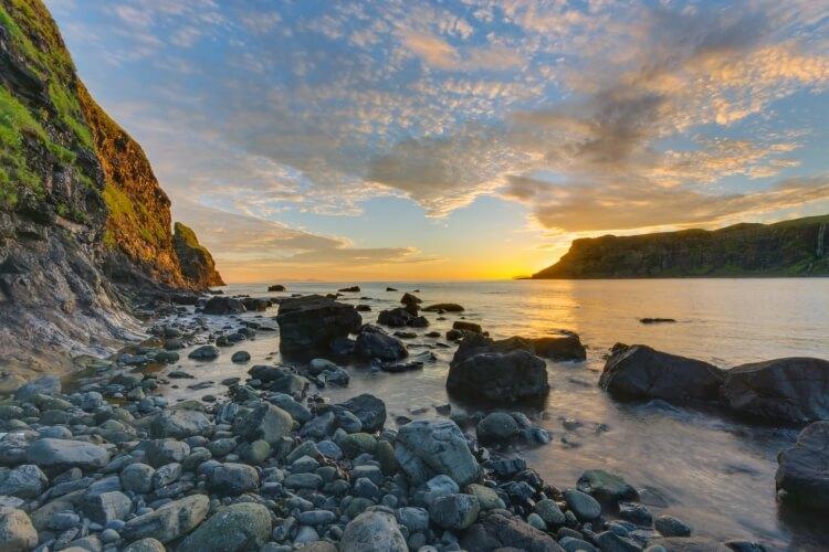 Talisker Bay na wyspie Skye