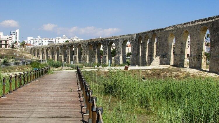 akwedukt Kamares w Larnace