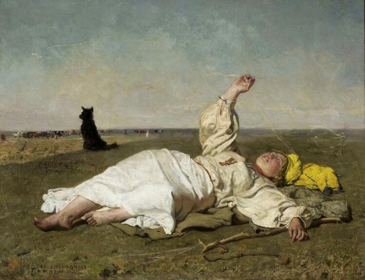 Babie lato – obraz Józefa Chełmońskiego