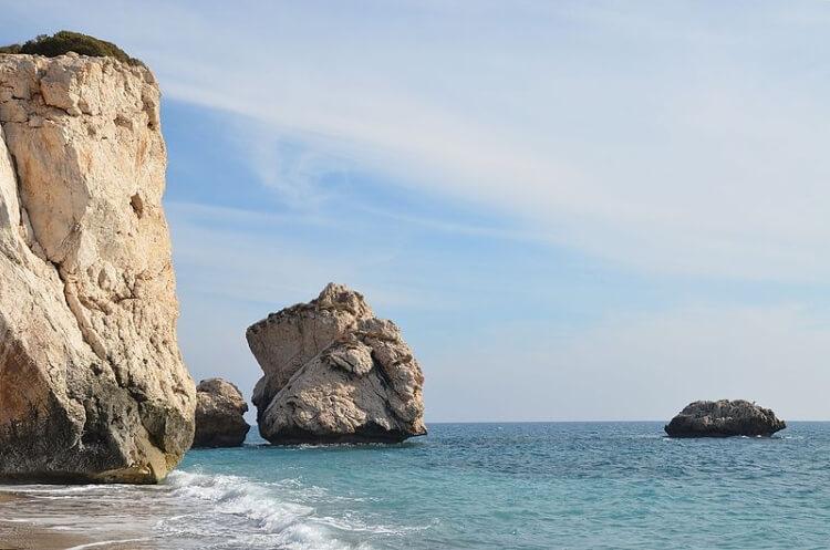 Pafos - skała Afrodyty