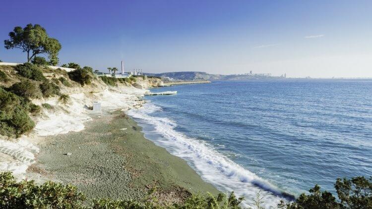 Limassol plaża Governor's Beach