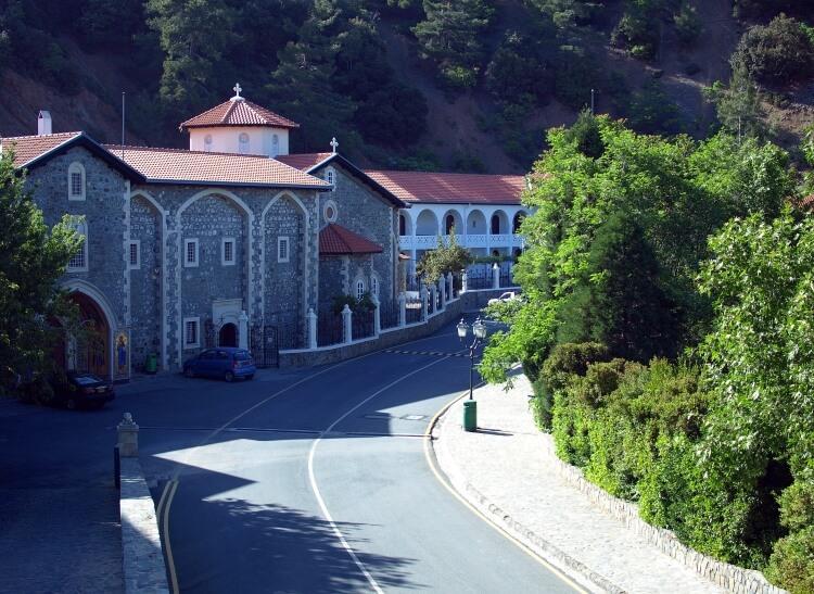 Klasztor Kykkos w górach Troodos na Cyprze