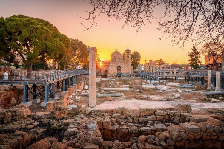 kościół Agia Kyriaki Chrysopolitissa w Pafos
