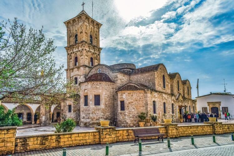 kościół Agios Lazaros w Larnace, Cypr