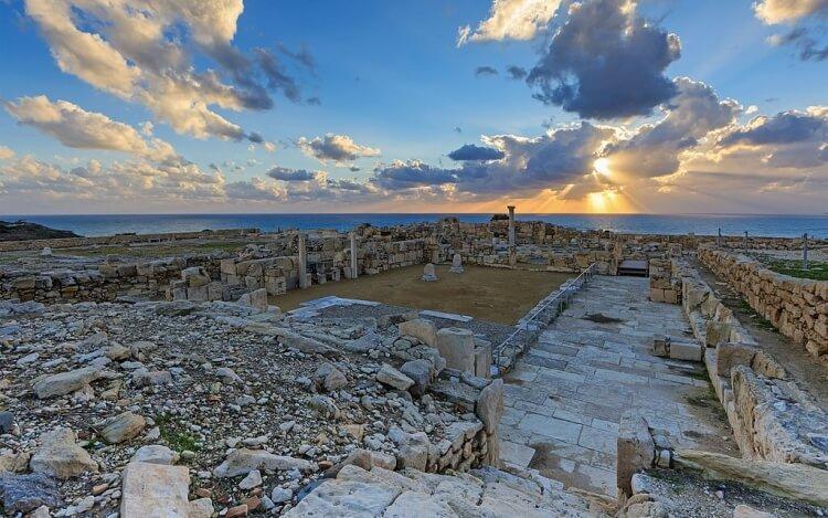 kompleks archeologiczny Kourion na Cyprze