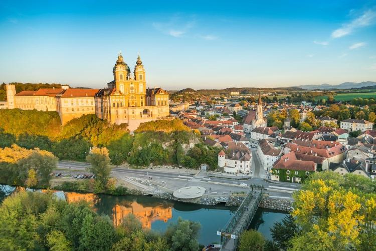 miasteczko Melk, Austria