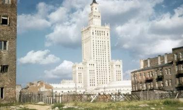 Pałac Kultury w 1958 roku