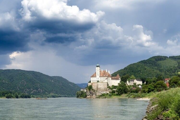 renesansowy pałac Schallaburg
