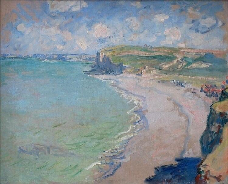 Plaża w Pourville – jedyny w polskich zbiorach obraz Claude'a Moneta