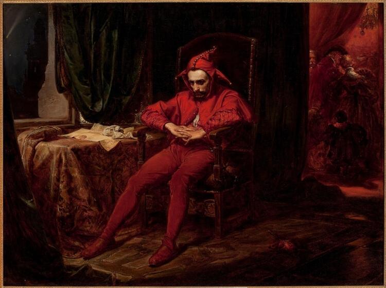 Stańczyk na dworze królowej Bony po utracie Smoleńska