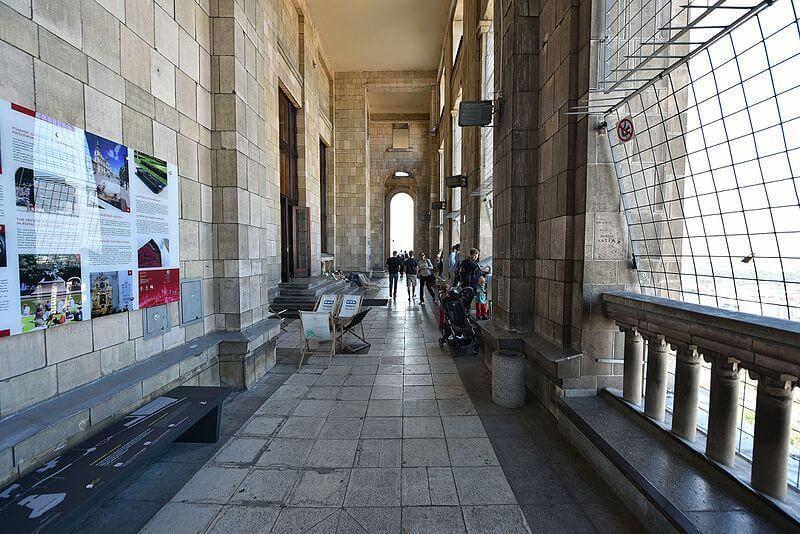 Taras widokowy Pałac Kultury