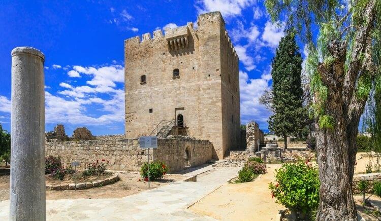 Zamek w Kolosi, Cypr