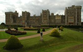 Wschodnia strona zamku Windsor