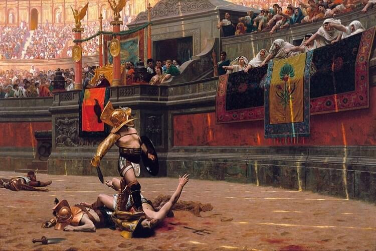 Obraz Gladiator Jean-Léon Gérôme
