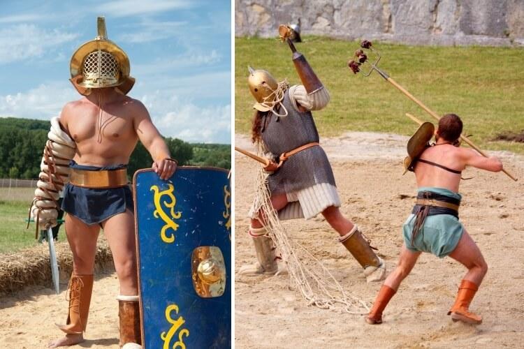 gladiatorzy retiatius i murmillo