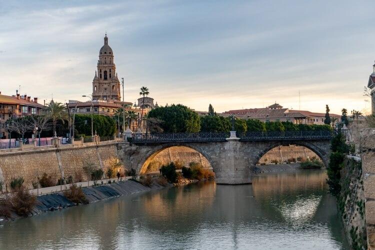 Murcja, most Puente de los Peligros