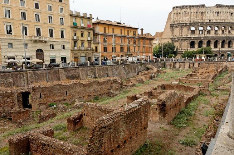 szkoła gladiatorów w Rzymie
