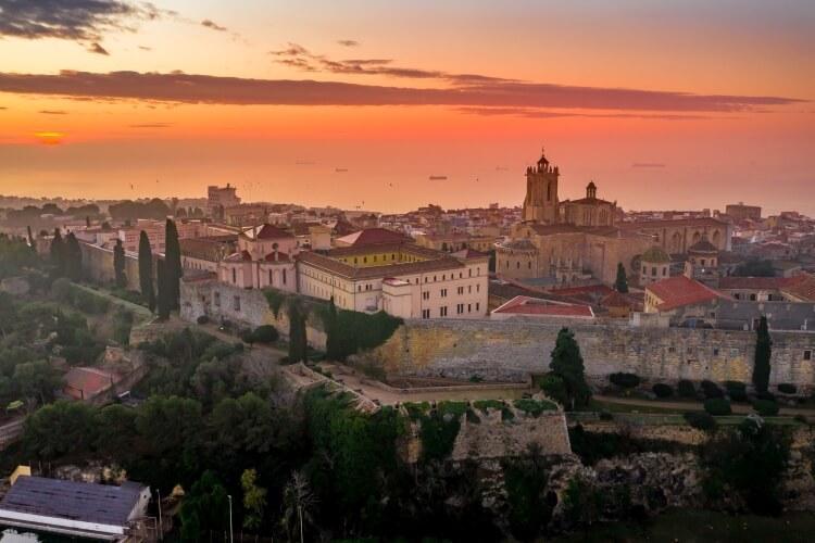 Tarragona panorama miasta