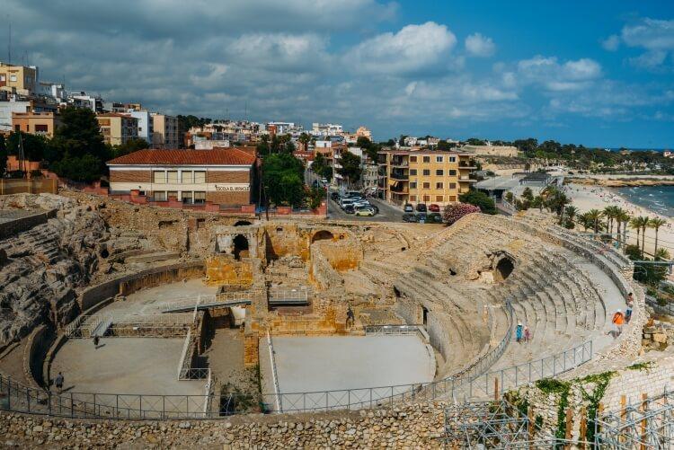Tarragona - ruiny amfiteatru