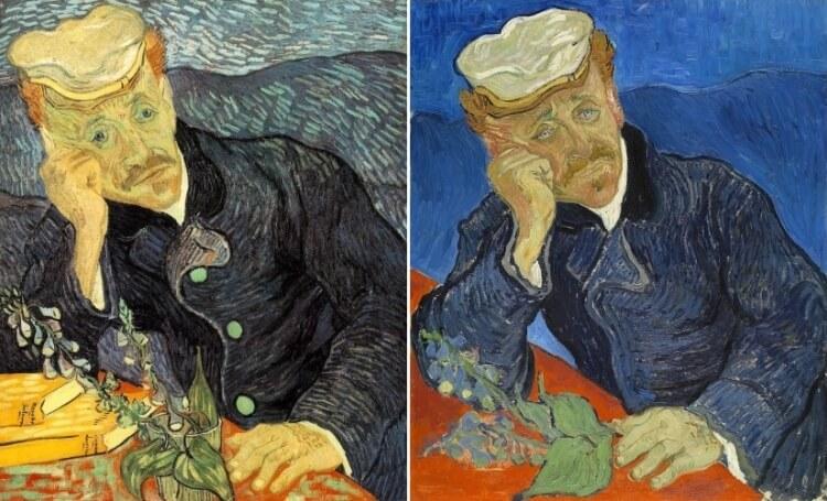 Portret doktora Gacheta - Vincent van Gogh