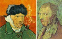 Autoportret z okaleczonym uchem - Vincent van Gogh
